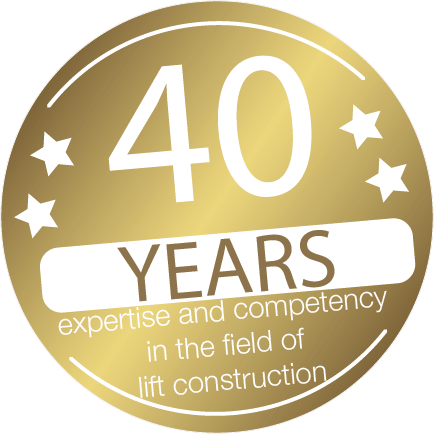 40 Years expertise and competency in the field of lift construction